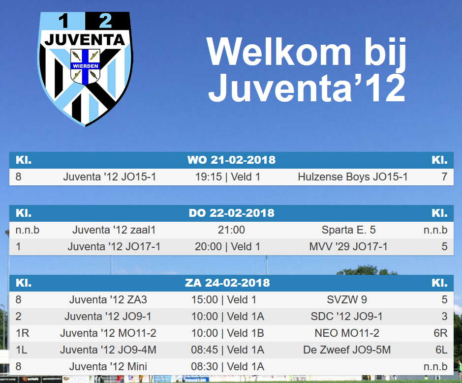 Welkom bij Juventa'12 !!