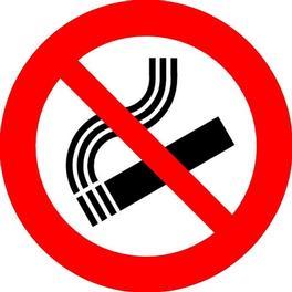 Roken rondom de velden verboden