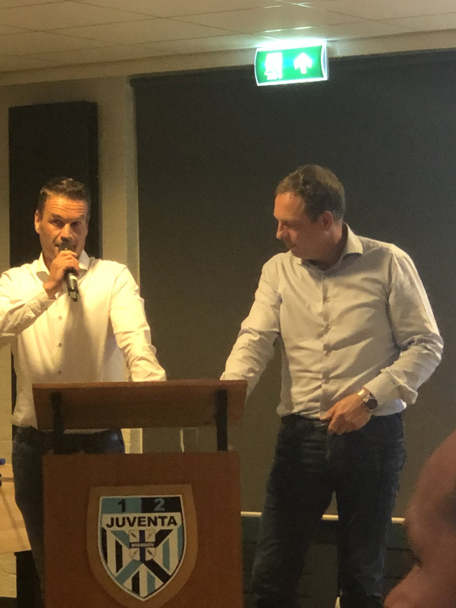Afscheid Patrick Rikmanspoel en Alfons Nijboer, Welkom Martin Peterink!