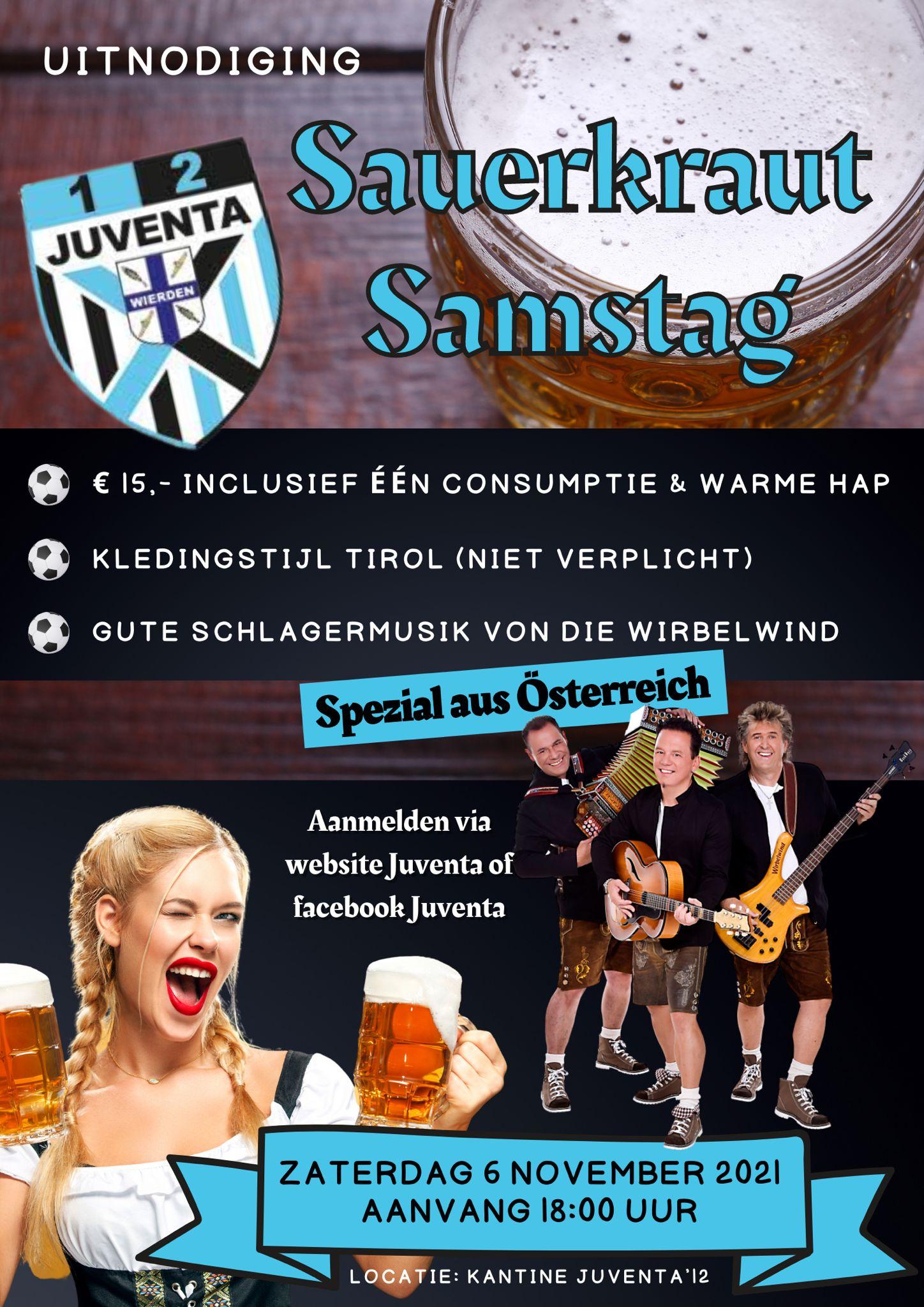 Sauerkraut Samstag!